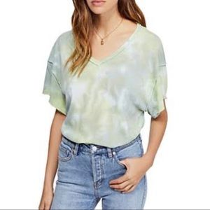 Free People    All Mine Cute-Out Tee